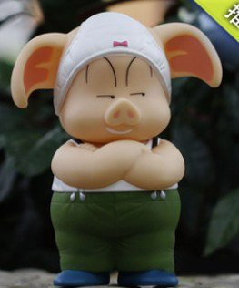 dragon ball oolong pig underwear fat ear action figure toy ...