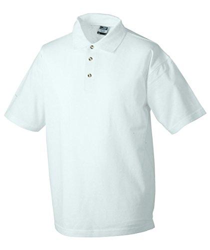5xl talla tiempo malla libre manga y hombre deporte para colores S blanco en el el cosido Polo corta para varios de aH5zqaw