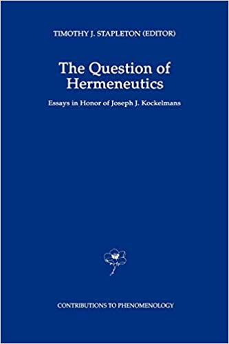 Hermeneutics Questions and Prospects