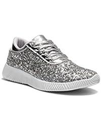Kid's K-Let's Get LIT Fashion Glitter Sneaker For Children/Girl/Kids