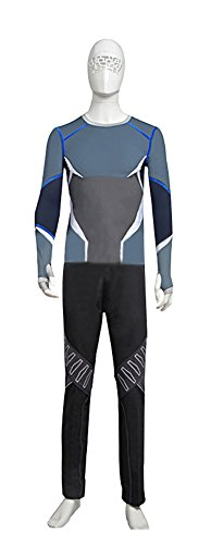 Costume Avengers Quicksilver (Mtxc Men's Avengers: Age of Ultron Cosplay Costume Quicksilver Full Set Size Medium)