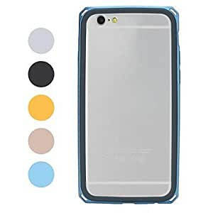 JOE ROCK Double Protective TPU+PC Bumper Frame Case for iPhone 6 (Assorted Colors) , Gray