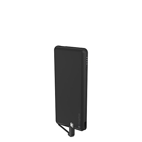 mophie powerstation Plus USB-C - Universal External Battery (6,000mAh) - Matte Black