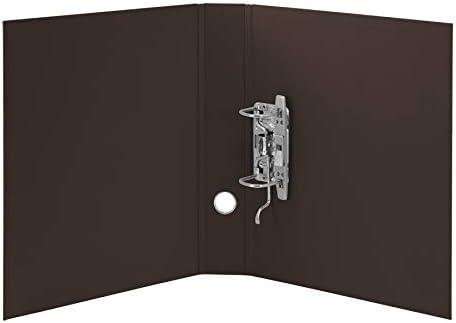 Brown R/össler Soho A4 50mm Lever Arch File Spine