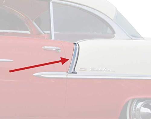 OER 748695 Upper Paint Divider Molding Set 1955 Chevy 150/210 2 and 4 Door