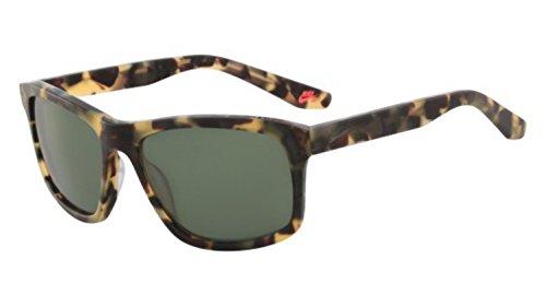 Nike EV1023-205 Flow Sunglasses (Frame Sunglasses (Green with Gunmetal Flash Lens), Matte Tokyo Tortoise by NIKE