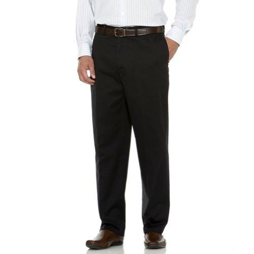 Plain Front Chino Pants - 6