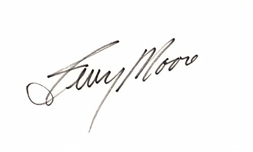 - Terry Moore Signed - Autographed 3x5 inch Index Card - Come Back, Little Sheba and 50 other movies