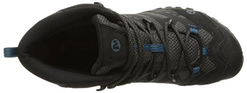Hiking Out Black Mid Shoe Vent Merrell Waterproof All Blaze 45YxqPw