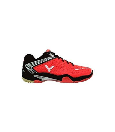 VICTOR V-300 Indoor Sport scarpa/badminton scarpa/scarpa palasport, Blu/Bianco Arancione