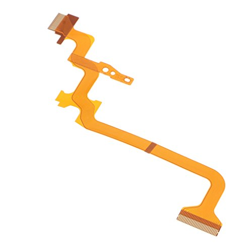 Baoblaze 1 Piece Repair Parts for JVC GZ-MS230 MS215 MS216 HM300 MG750 HD520 HD620 Video Camera LCD Flex Cable Unit Replace Assembly from Baoblaze