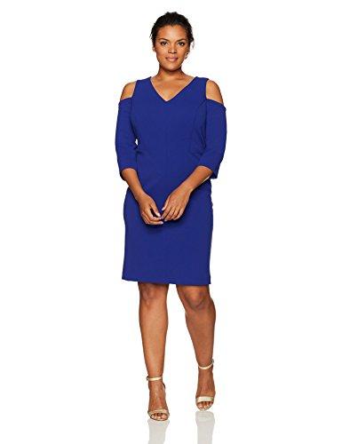 Women's Plus Size Cold Shoulder Dresses