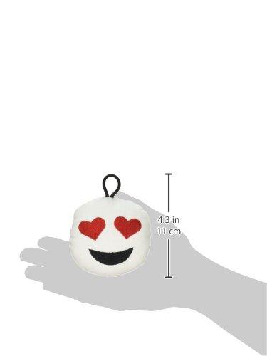 Emoji Plush Mini Pillow 3 pack Grimace, Heart Eyes, Laughing Tears Rock 40