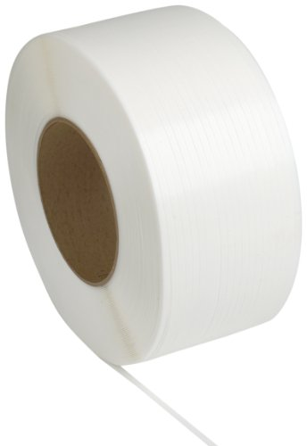 PAC-Strapping-48M502272-12-Machine-Grade-White-Polypropylene-Strapping