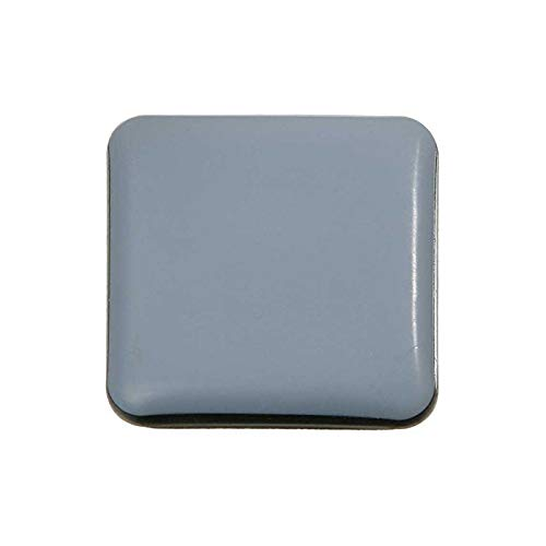 SBS /® Almohadillas para muebles 16-piezas Teflon autoadhesiva 50x50 mm PTFE Brillo Laflon Super delta