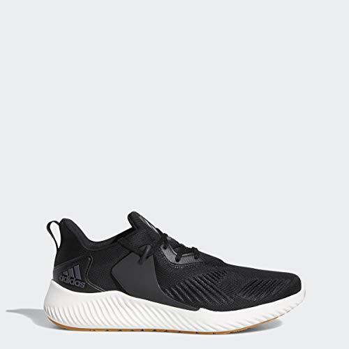 adidas Men's Alphabounce Rc 2 Running Shoe, Night Metallic/Black, 9 M US