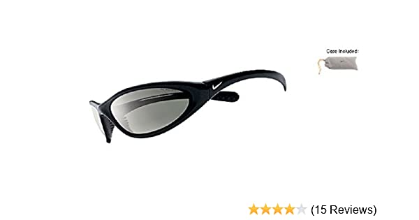 9b615c5d1a54f Amazon.com   Nike Tarj Classic Black Sunglasses with Grey Lens   Sports    Outdoors