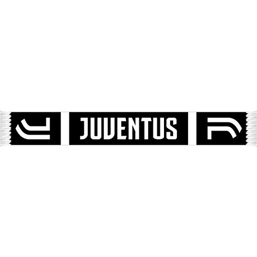 Juventus - Black & White Team Crest Scarf