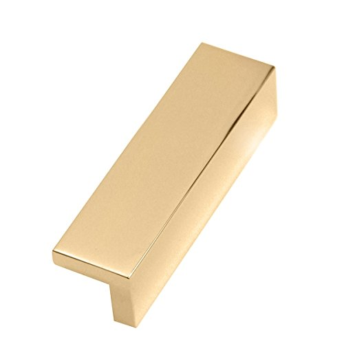 Alno A960-3-PB Tab Pulls Modern Pulls Polished Brass