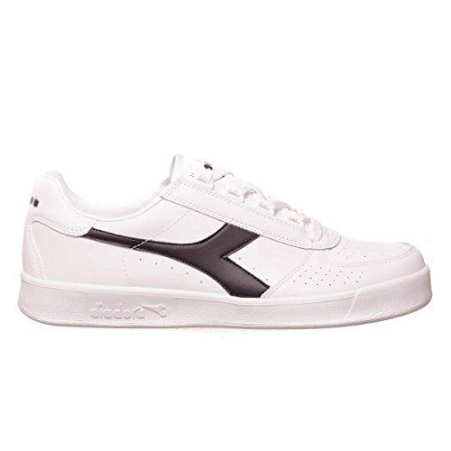 Sneakers Elite Low Unisex White Black Top Diadora White Adults' B tY7wpqU