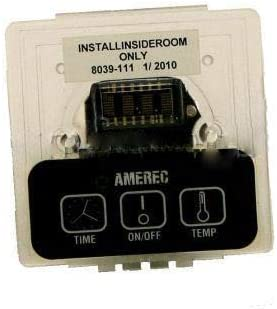 AMEREC 9110-190 CONTROL KT60 w//INTREGAL TEMP SENSOR COVER PLATE NOT INCLUDED//GOLD LETTERING