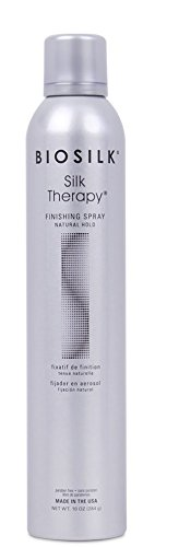 Biosilk Finishing Spray - BioSilk Silk Therapy Natural Hold Finishing Hair Spray for Unisex, 10 Ounce