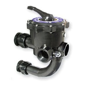 Jandy Side Mount Multiport Valve Complete w/ Pre-Plumbed Union Kit for DEV48 and DEV60 Filters by Jandy