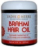 Brahmi масло - аюрведический рост волос масло для массажа