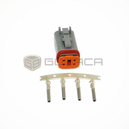 5x Deutsch DT04-4P//DT06-4S DT Series Sealed Waterproof Connector Plug Kits New
