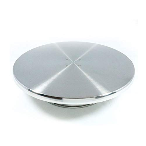 Hanason Cake Decorating Stainless Turntable and Cake Stand ()