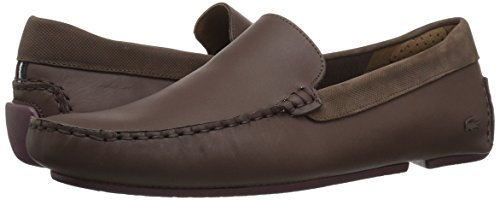 Lacoste Men's Piloter 317 1, Dark Brown, 10.5 M US