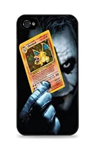 diy phone caseJoker Holding Charizard Apple ipod touch 5 Silicone Case - Black - 629diy phone case