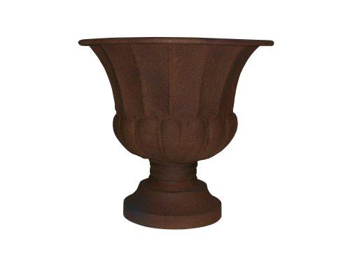 Rustic Urn - Gardman 8231 Grecian Style Rustic Urn Planter, 16