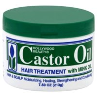 (Hollywood Beauty Castor Oil Hair Treatment with Mink Oil, 7.5 Ounce)