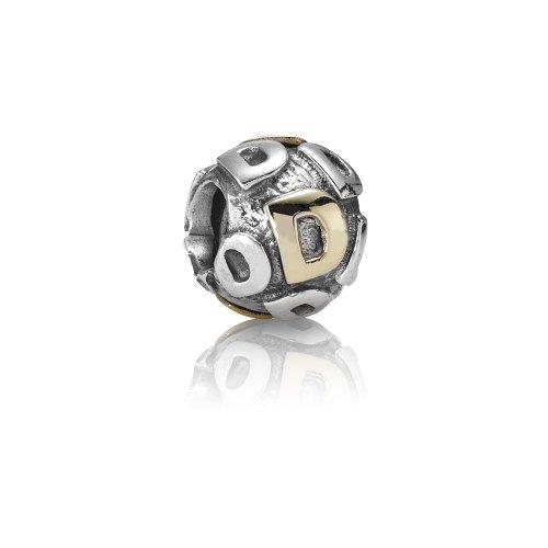 Pandora - 79298-D - Drops Femme - Lettre - Initiale - Argent 925/1000