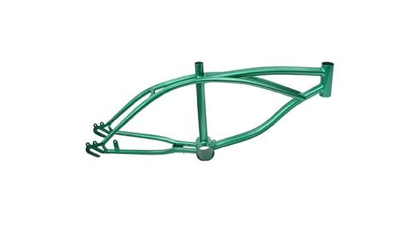 """16/"""" Green Lowrider Frame Metallic lowrider bike bicycle frame"""