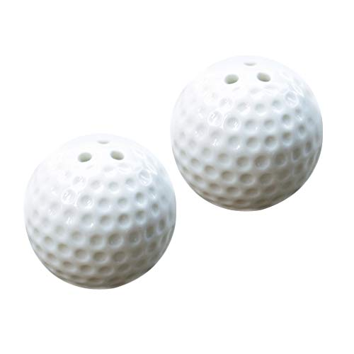 Prettyia 2pcs Golf Ball Salt And Pepper Shakers Set Wedding Party Gift Favors ()