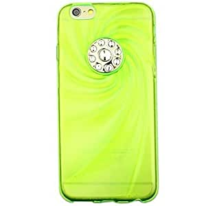 ZL Swirl Diamond Phone Shell Cases for iPhone 6 (Assorted Colors) , White
