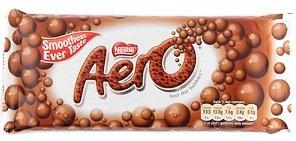 Nestle Aero Milk Chocolate Bar pack