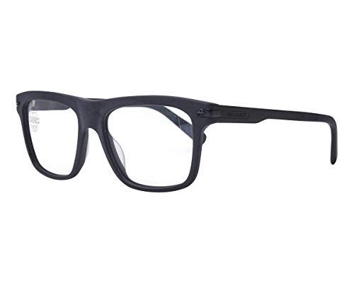 Vuarnet VL140400010622 Clip-On Sunglasses Matte Black Frame Polarlynx Blue Glass ()