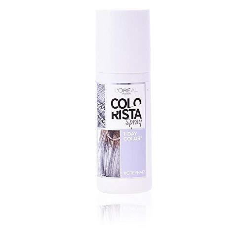 🥇 L'Oréal Paris Colorista Coloración Temporal Colorista Spray – Grey Hair