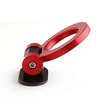 Red Universal ABS Bumper Car Sticker Adorn Car Dummy Tralier Hook Kit Car Series of Exterior Auto Accessories: Industrial & Scientific