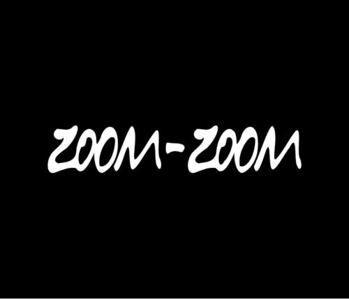 zoom zoom window decal - 1