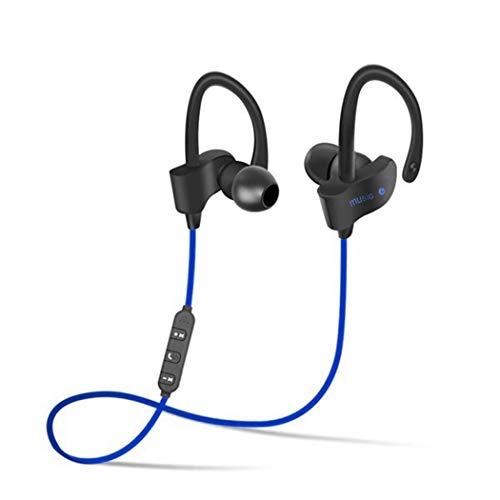Zronji Wireless Bluetooth Headphone Sporting Earphone with Mic for Moblie Phone