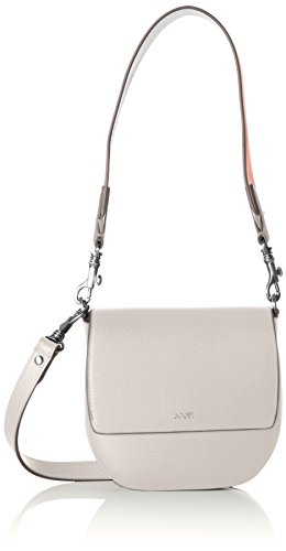 JOOP Grano Colorblocking Rhea Shoulderbag Shf - Bolso de hombro Mujer Gris (Light Grey)