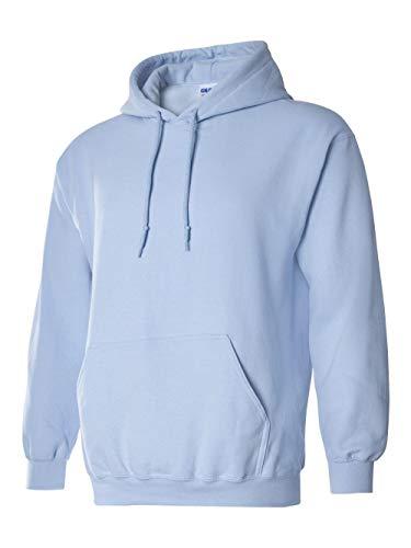Hooded Pullover Sweat Shirt Heavy Blend 50/50 - Light Blue 18500 L