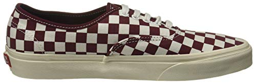 Royale Marshmallow Red Port Vans Authentic WFnSSxE