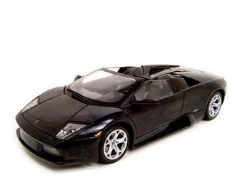 Lamborghini Murcielago Roadster Black Diecast Model 1:18 Die Cast Car ()