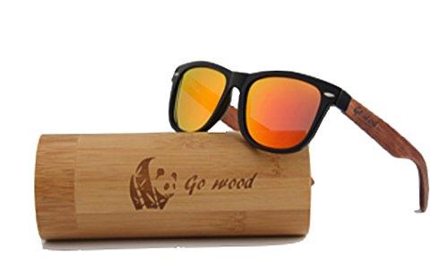 Panda Go Wood sunglasses - Sunglasses With Panda