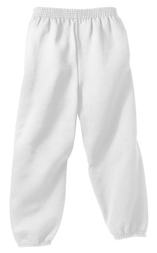 - Joe's USA Youth Soft and Cozy Sweatpants White Size Youth XS